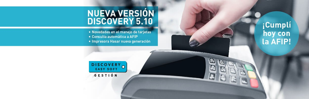 Nueva version Discovery 510