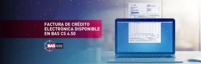 BAS CS Factura de credito electronica